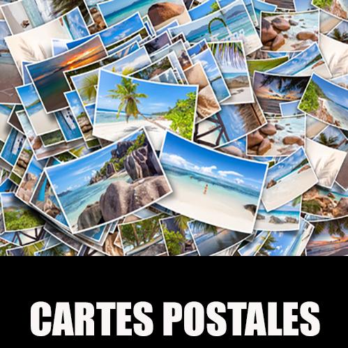 CARTE POSTALE FORMAT 10.5 x 14.8 cm IMPRIMÉE A PRIX BAS